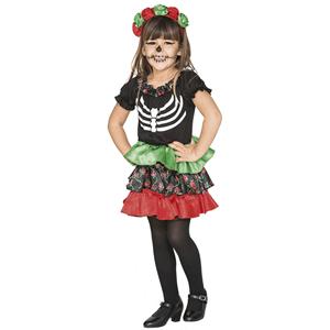 Fato Esqueleto Catrina, bebé