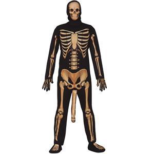 Fato Esqueleto Cómico, Adulto