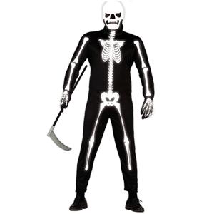 Fato Esqueleto Glow
