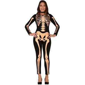Fato Esqueleto Halloween, Adulto