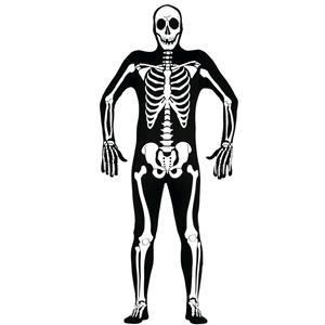 Fato Esqueleto Homem