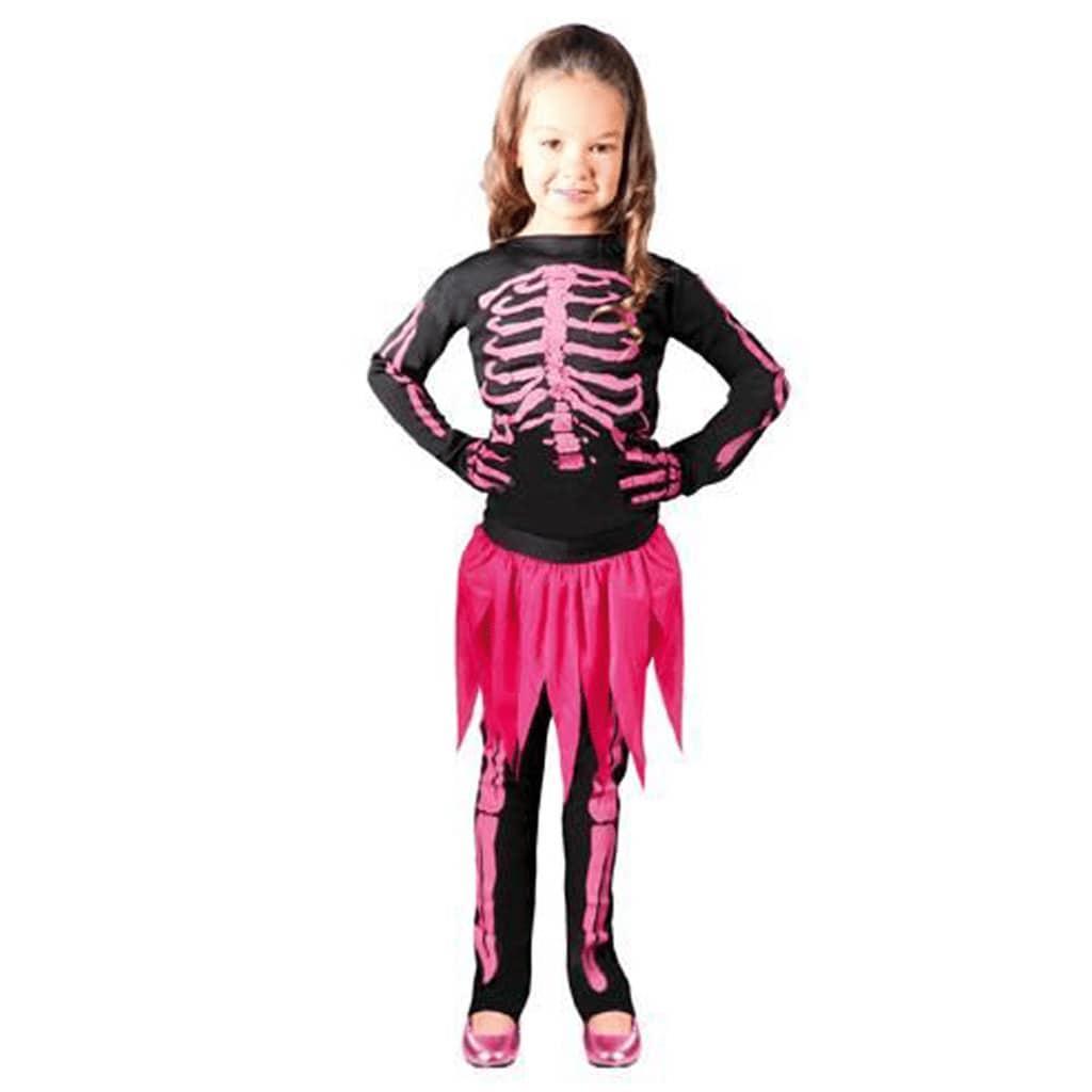 Fato Esqueleto Rosa, Criança