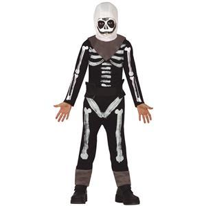 Fato Esqueleto Soldado, Criança