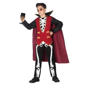 Fato Esqueleto Vampiro Menino