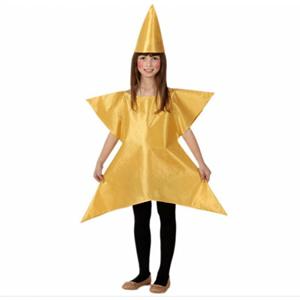 Fato Estrela Dourada com Chapéu, criança