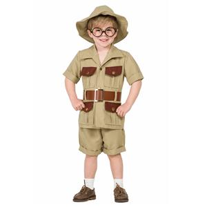 Fato Explorador da Selva, Menino