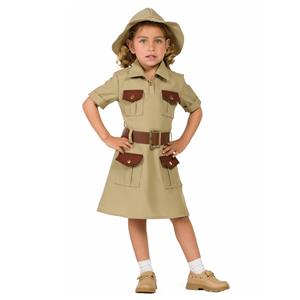 Fato Exploradora da Selva, Menina