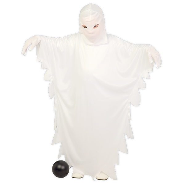 Fato Fantasma Branco, criança