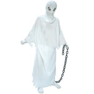 Fato Fantasma com Gorro, Adulto