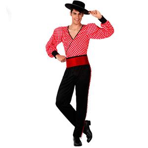 Fato Flamenco Vermelho