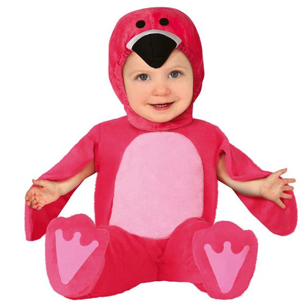 Fato Flamingo, Bebé