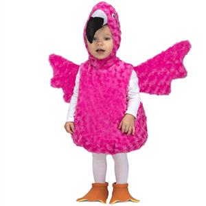 Fato Flamingo Rosa, Bebé