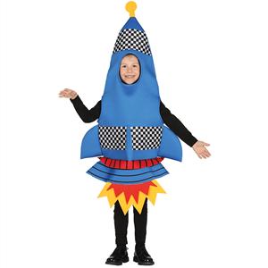 Fato Foguetão Azul, Criança