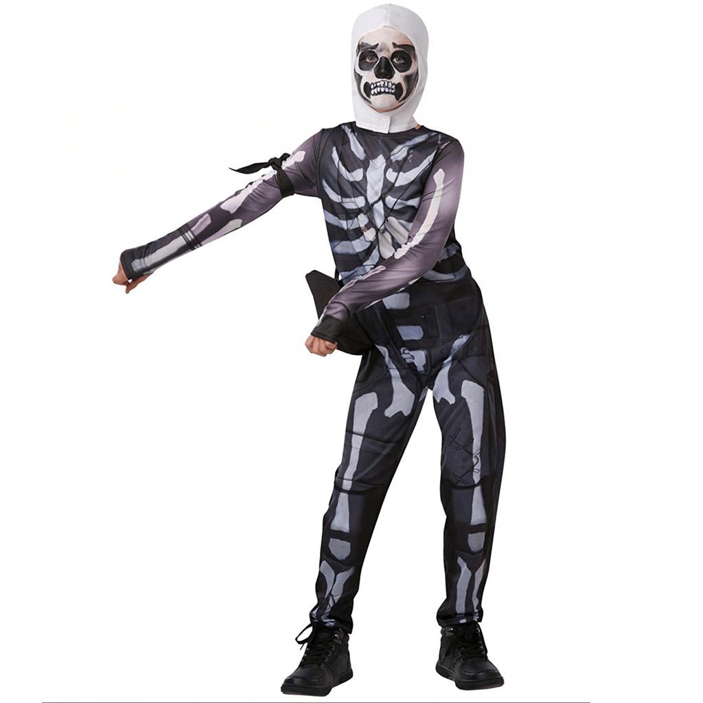 Fato Fortnite Skulltropper, Criança