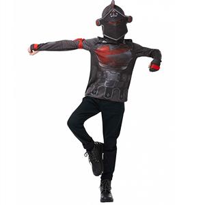 Fato Fortnite T-Shirt Black Knight, Criança