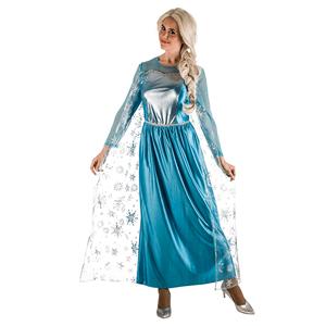 Fato Frozen Princesa Gelo