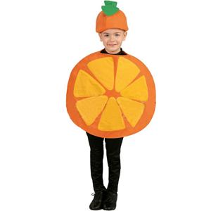 Fato Fruta Laranja, criança
