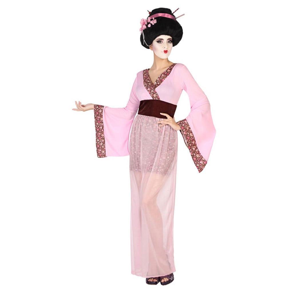 Fato Geisha Rosa, Adulto