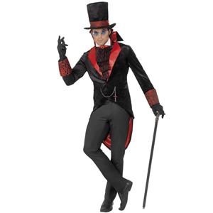 Fato Halloween Conde Drácula Deluxe, Adulto