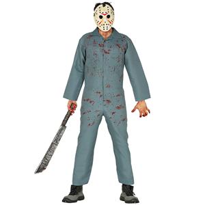Fato Halloween Jason Ensanguentado, Adulto