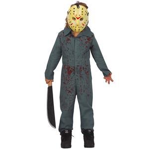 Fato Halloween Jason Ensanguentado, Criança