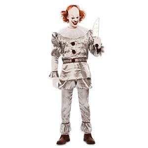 Fato Halloween Palhaço Demoníaco, Adulto