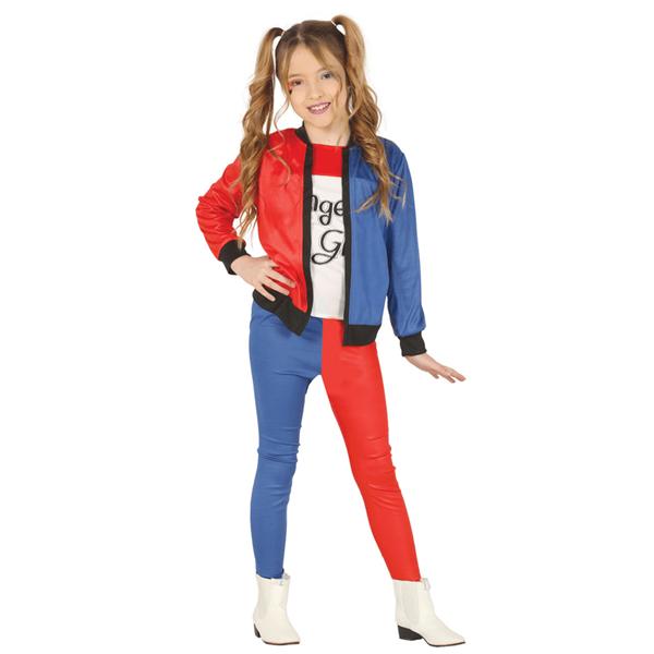 Fato Harley Quinn Clássico, Criança