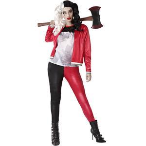 Fato Harley Quinn Halloween, Adulto