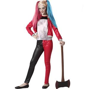 Fato Harley Quinn Halloween, Criança
