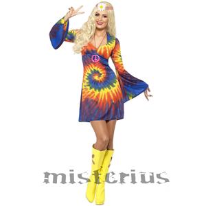 Fato Hippie Colorido, Mulher
