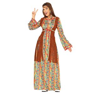 Fato Hippie Elegante, Adulto