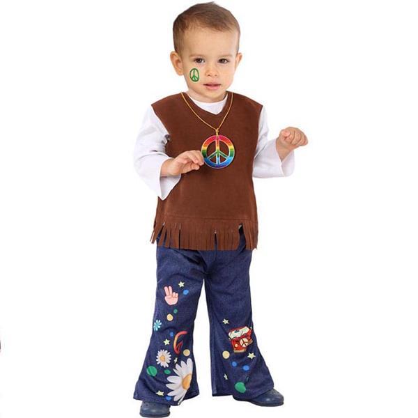 Fato Hippie Estiloso Menino, Bebé