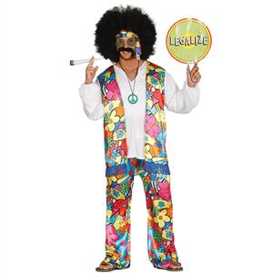 Fato Hippie Florido, Adulto