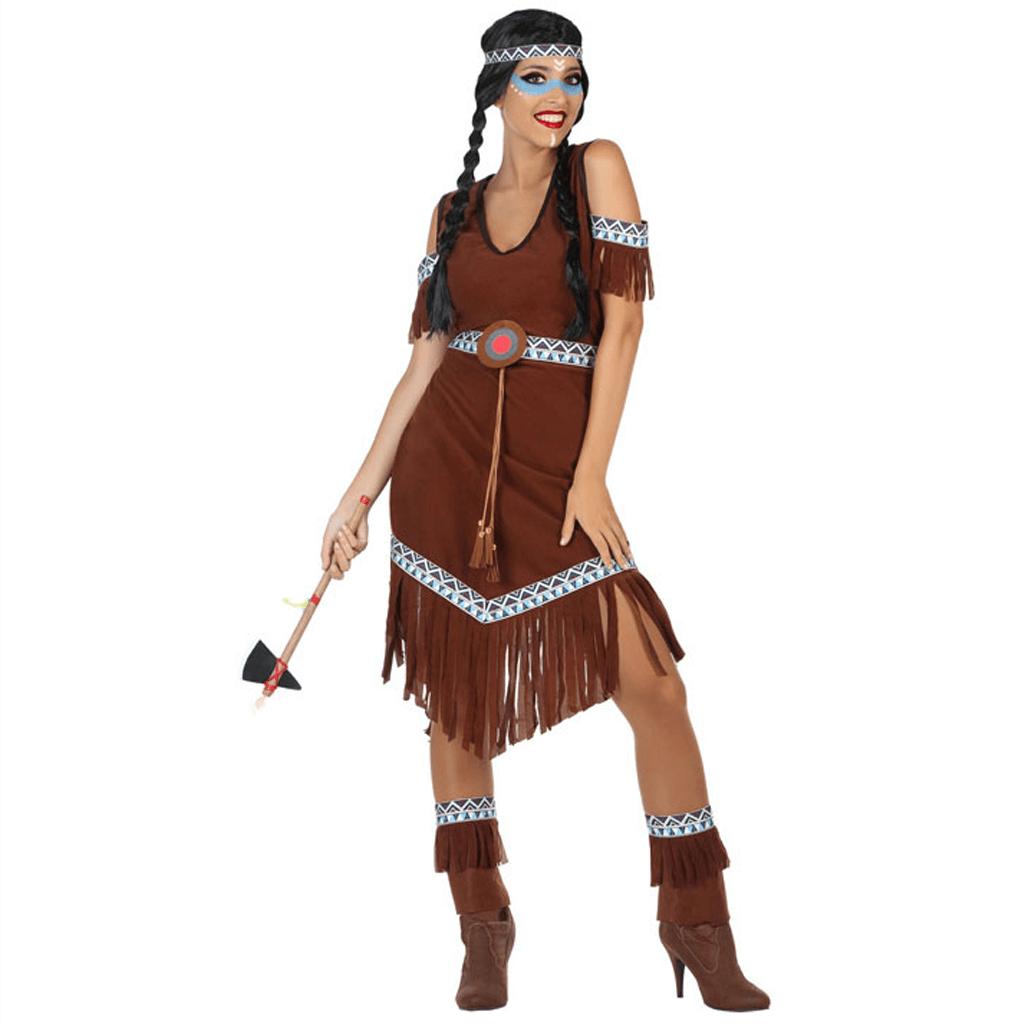 Fato India Tribo Sioux, Adulto