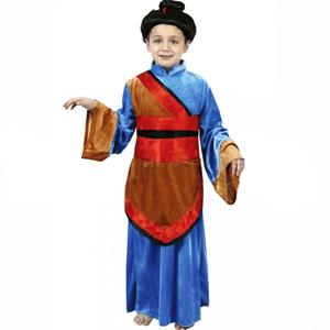 Fato Japonesa Azul, criança