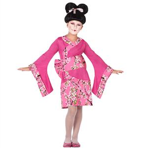 Fato Japonesa Rosa, Criança