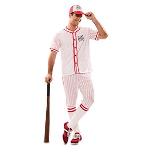 Fato Jogador de Basebol, Adulto
