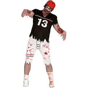 Fato Jogador Futebol Americano Zombie