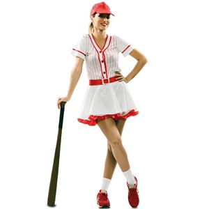 Fato Jogadora de Basebol, Adulto