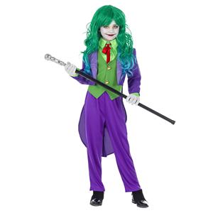 Fato Joker Roxo, Menina