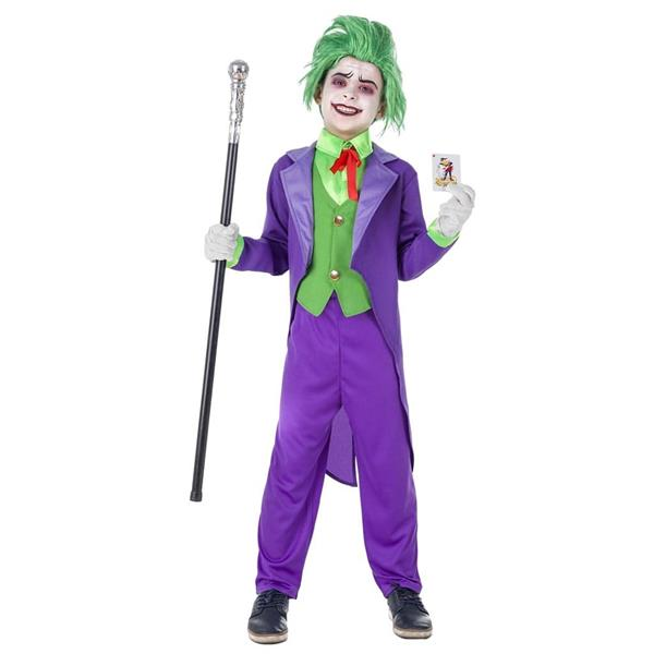 Fato Joker Roxo, Menino