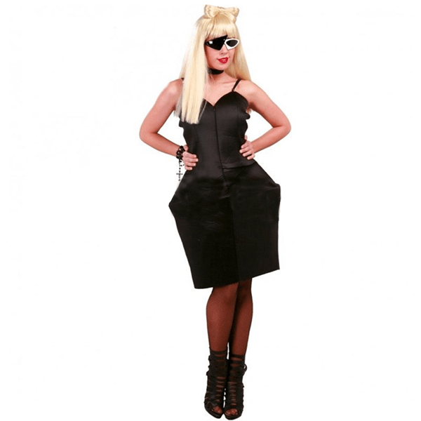 Fato Lady Gaga Preto