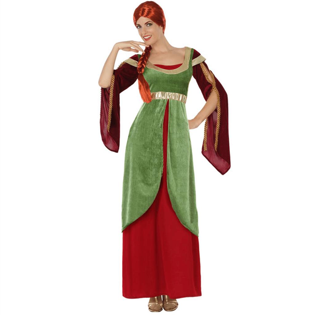 Fato Lady Medieval, Adulto