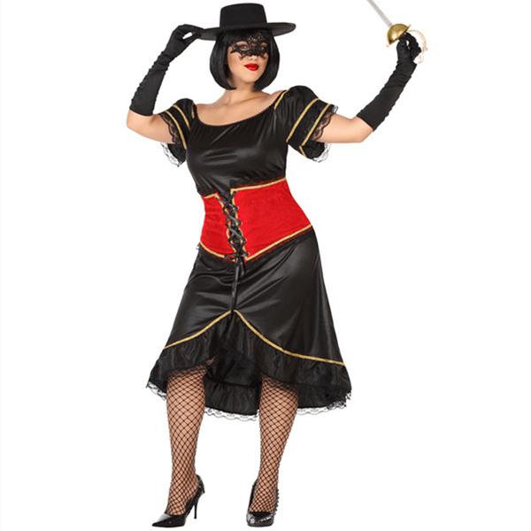 Fato Lady Zorro, Adulto