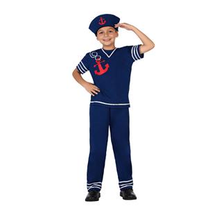 Fato Marinheiro Azul, Criança