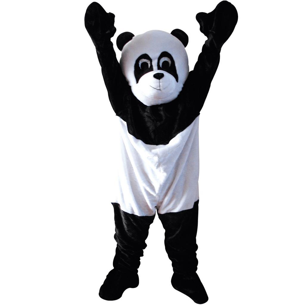 Fato Mascote Panda, Adulto