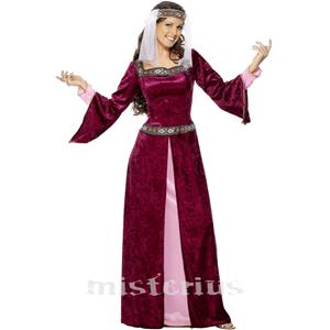 Fato Medieval Aia, Adulto