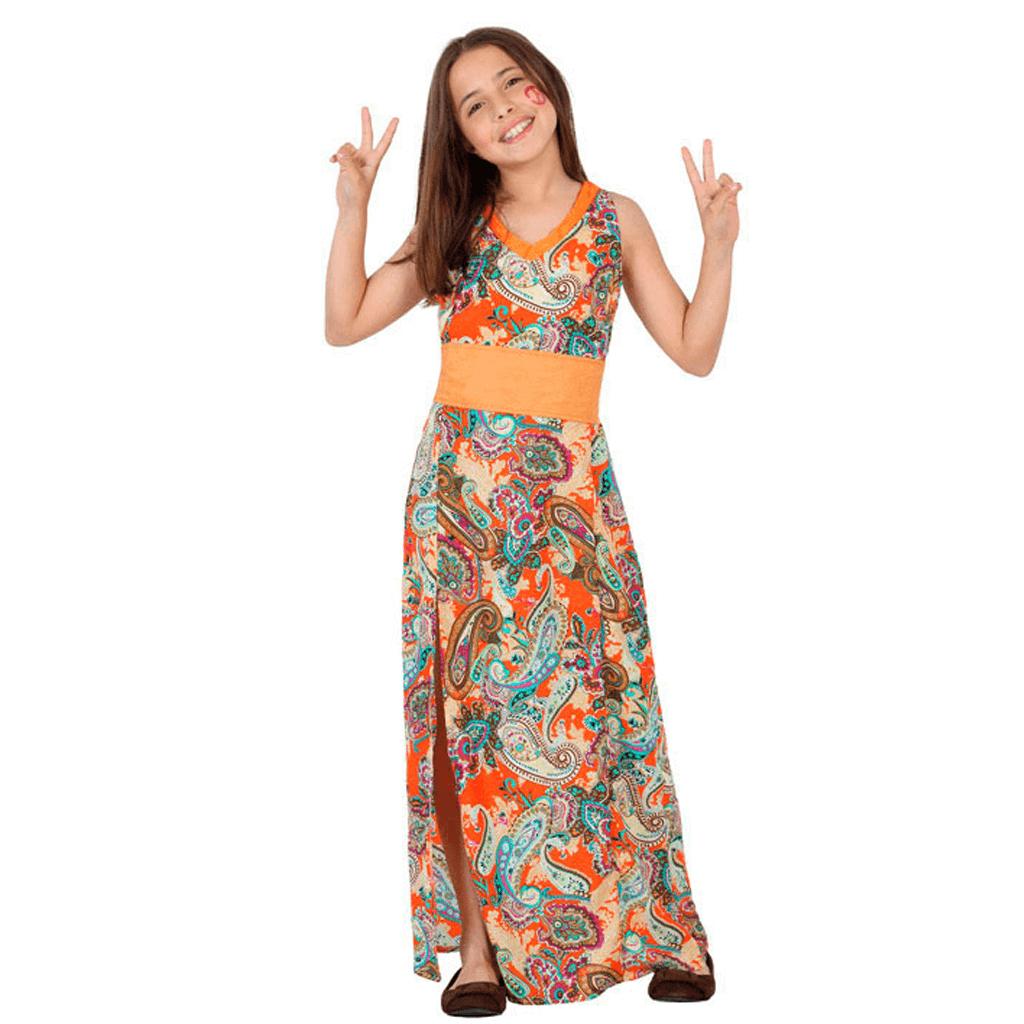 Fato Menina Hippie Paz e Amor, Criança