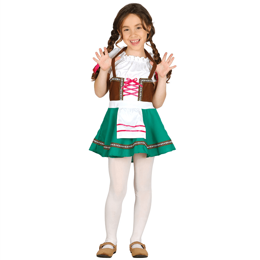 Fato Menina Tirolesa, Criança