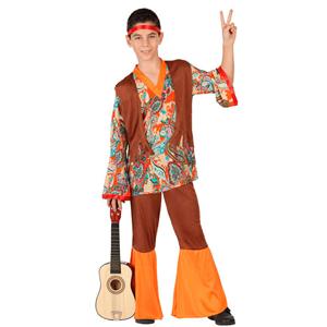 Fato Menino Hippie Paz e Amor, Criança